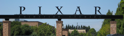 The Pixar Entrance